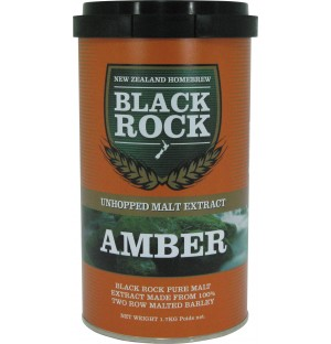 Black Rock Unhopped Amber 6 x 1.7kg