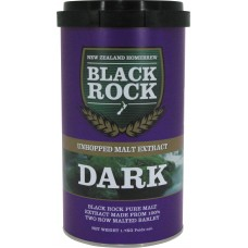 Black Rock Unhopped Dark 6 x 1.7kg